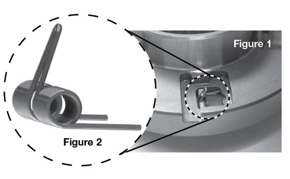 Mechanical Diode Strut Spring Orientation as installed