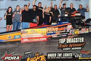 Cody Moore Top Dragster Winner at TRP