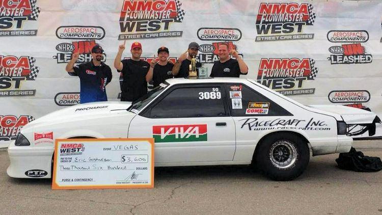Eric Gustofeon NMCA Street Outlaw Winner Vegas
