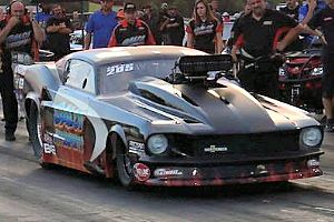 Jason Harris PDRA Pro Nitrous Winner at TRP