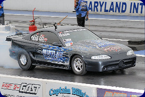 Manson Breaks NMCA Drag Radial Record