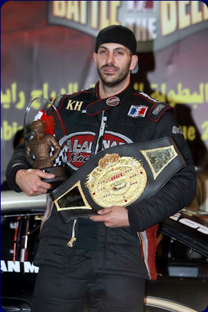 Dan Millen 2011 Arabian Drag Racing League World Champion