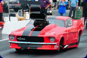 Tutterow goes 3.733@208.68 in New Mustang