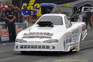 Cox Runners up at Maple Grove in NHRA TA/FC