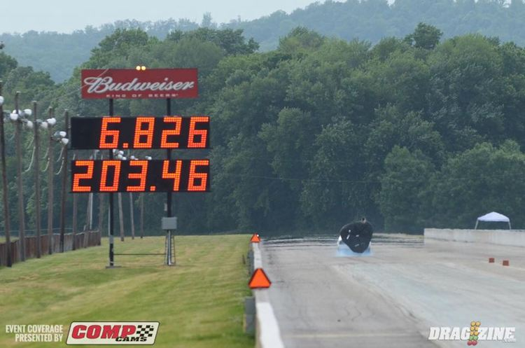 Eric Gustafson sets new NMCA Street Outlaw Record!