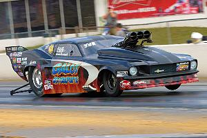 Kevin Rivenbark #1 qualifier and Outlaw Pro Mod Winner