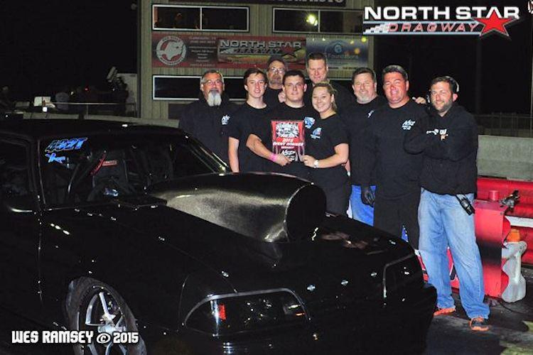 Tyler Stubbe X275 Winner at North Star Dragway