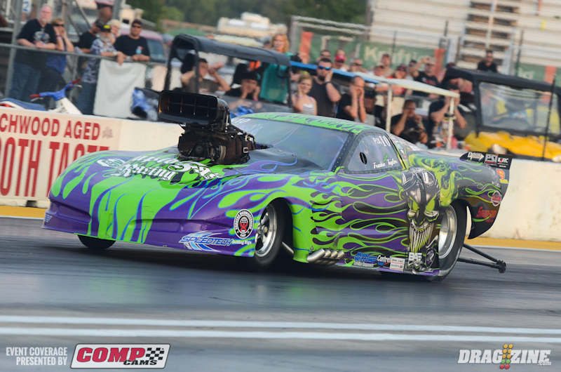 Frankie The Madman Taylor wins Outlaw Pro Mod at PSCA Gateway