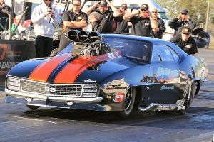 Todd Tutterow #1 qualifier and Xtreme Pro Mod Winner