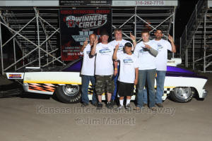 Bobby Stahl Wins Outlaw  - at Kansas International Dragway
