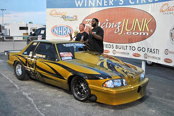 Shawn Ayers Limited Drag Radial winner at Tulsa Radial Revenge