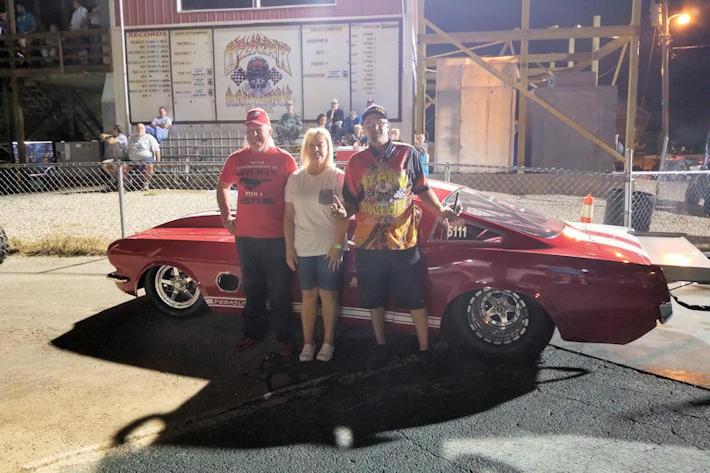Don Erwin Wins  True 10.5 at Ozark Raceway Park 40th Anniversary Shootout