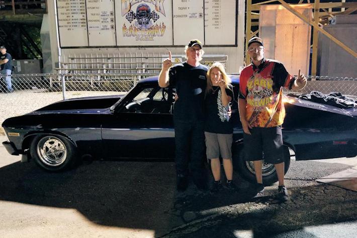 John Heard resets track record, wins  Drag Radial at Ozark Raceway Park 40th Anniversary Shootout