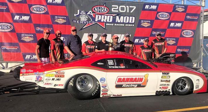 Steve Jackson wins NHRA Pro Mod at Vegas