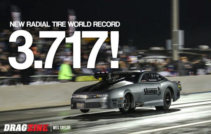 Steve Jackson New World Record for Drag Radials