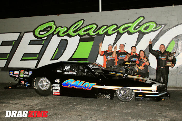 Todd Tutterow wins World Street Nationals Pro Mod