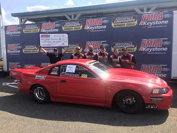 Manny Buginga Wins Street Outlaw NMRA Battle it out in the Buckeye State Race