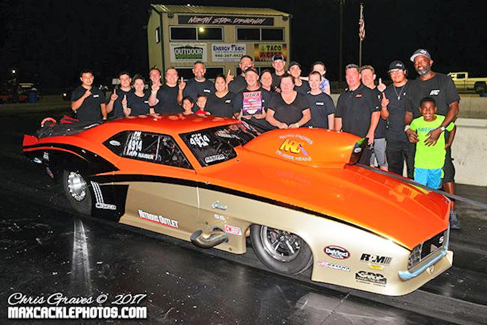 Jeff Naiser Pro Drag Radial Winner