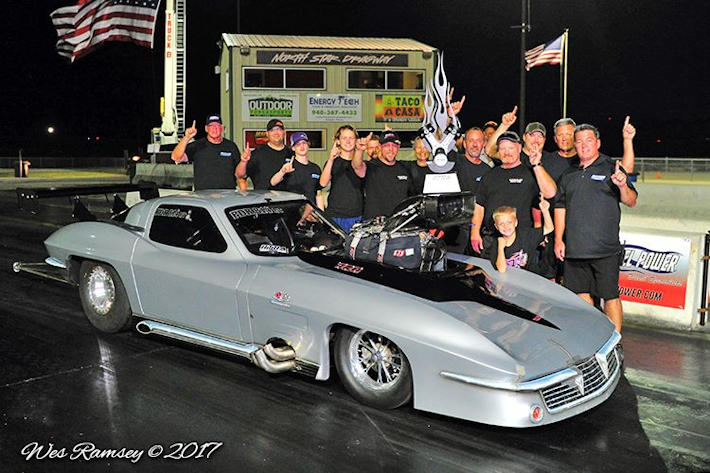 Rodney Whatley 2017 RTRA Pro Drag Radial Champion