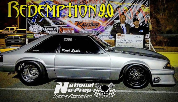 Keith Szabo Small Time Winner Redemption 9.0