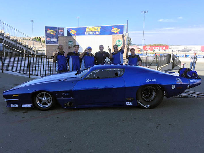 Ed Thornton Wins  Xtreme Pro Mods West at Sonoma
