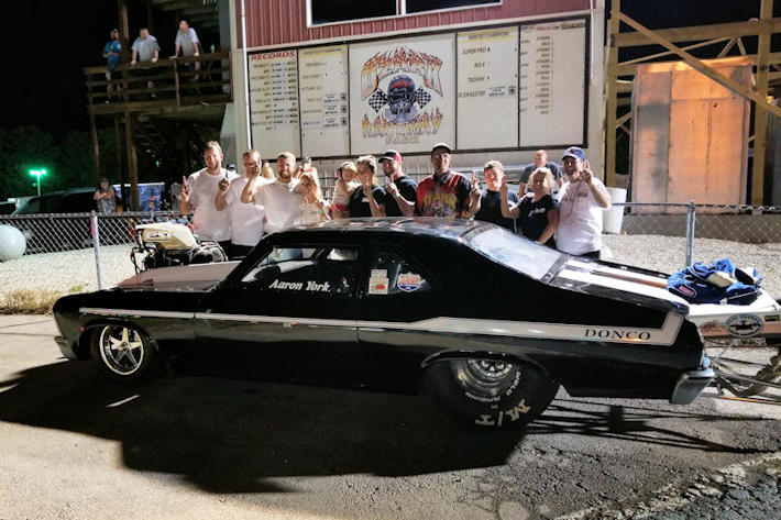 Aaron York Wins  Pro Street at Ozark Raceway Park 40th Anniversary Shootout