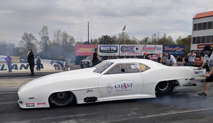 Eric Gustafson NMCA Altlanta Winner and new Centrifugal Blower Record!