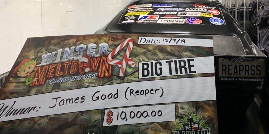 Reaper SS No Prep Big Tire Winner